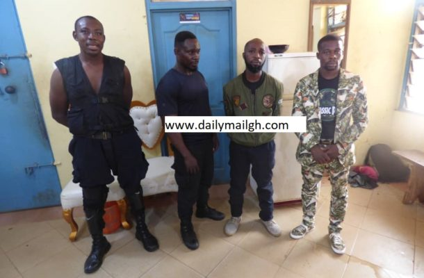 'IGP', fetish priest arrested over lockdown extortion in Kumasi