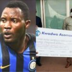 Inter Milan star Kwadwo Asamoah was admitted twice at KATH as a kid - Father reveals