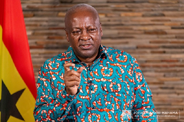 Mahama responds to Government Official 1 tag