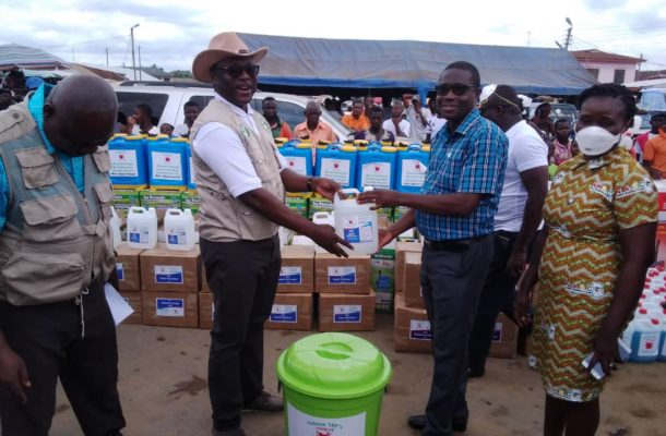 Suhum MP launches COVID-19 Support Projects