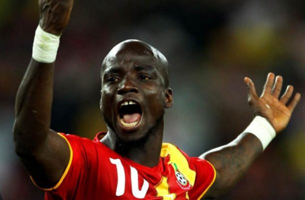 Playing at 2004 Olympic games for Ghana ended my Juventus career - Stephen Appiah