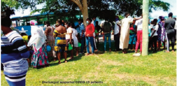 Jubilation as 200 suspected coronavirus patients are discharged
