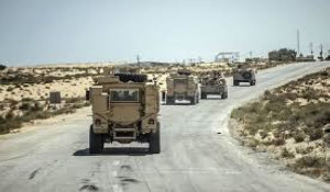 Egyptian forces kill 21 militants in North Sinai