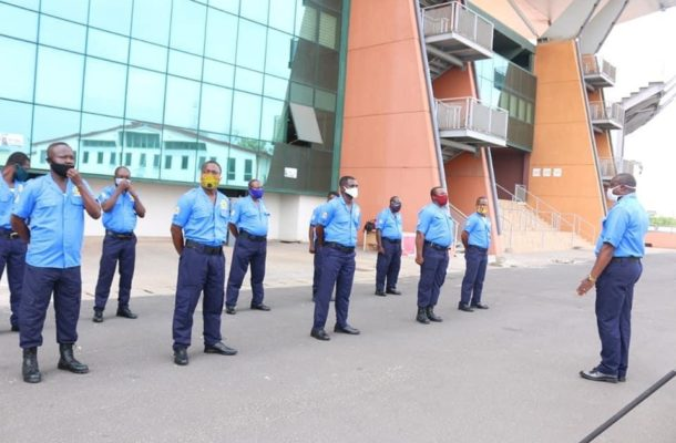 National Sports Authority unveil new security uniforms [PHOTOS]