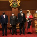 President Akuffo-Addo swears in Supreme Court Justices Mensah-Bonsu and Yonny Kulendi