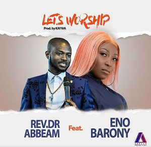 VIDEO: Rapper Eno Barony leads worship with Rev. Abbeam Danso