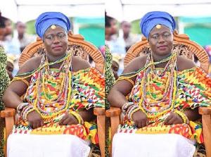 Manya Krobo Paramount Chief destools queen mother for 'betrayal'