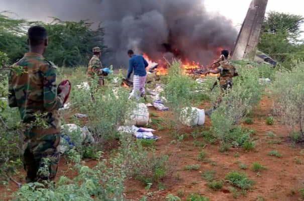 Plane carrying coronavirus supplies crashes in Somalia, kills 6 people
