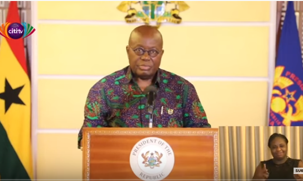 Full text: Nana Addo's 10th address to the nation on covid-19 fight