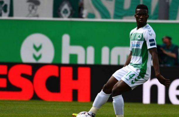 Ghana's Nunoo Sarpei thrilled with Bundesliga 2 return