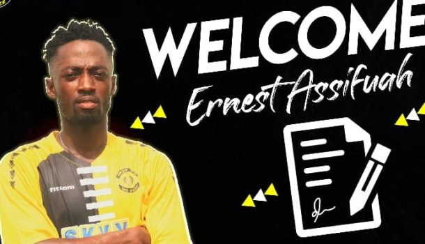Skyy FC signs talented midfielder Ernest Assifuah from Glo Lamp Academy
