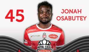 Ghana Youth Star Jonah Osabutey wins Royal Mouscron player of the year