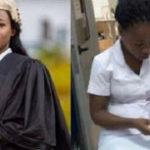Meet Elizabeth Owusua who works as a lawyer by day, nurse by night