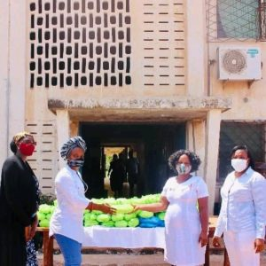 COVID-19: Inmates at Pantang Hospital get free lunch from Boresah Royal Foundation