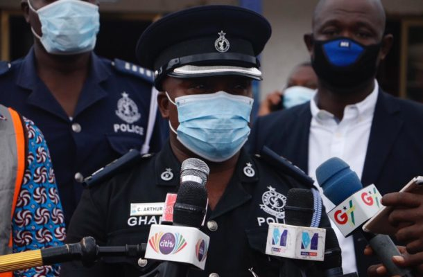 Police Commander clears air on COVID-19 cases at Dansoman Divisional Hqrs