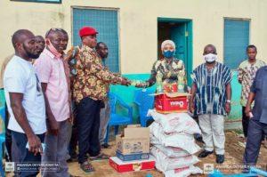 Eid al-Fitr: Suhum MP aspirant Amanda Kwatia donates to Muslims