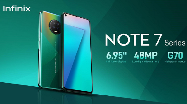 Infinix rolls out Note 7: Powerful features, infinite possibilities