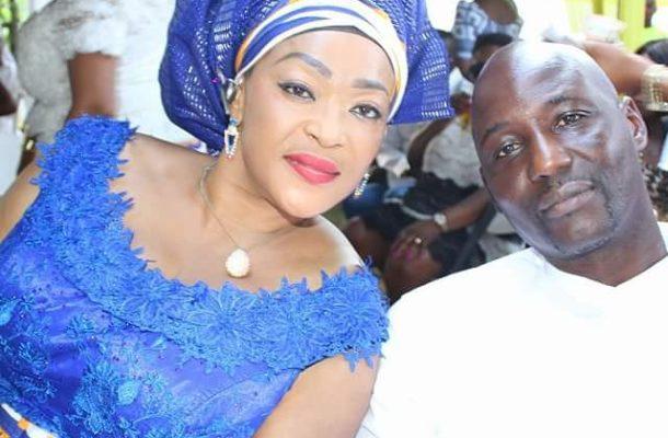 Kalsoume Sinare celebrates husband for 26 years Anthony Baffoe on his birthday