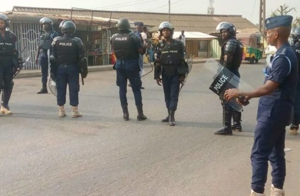 Police foil another bank robbery in Accra