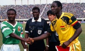 Tony Baffoe dismisses Tony Yeboah's claims of his manager talking about 1992 finals captaincy