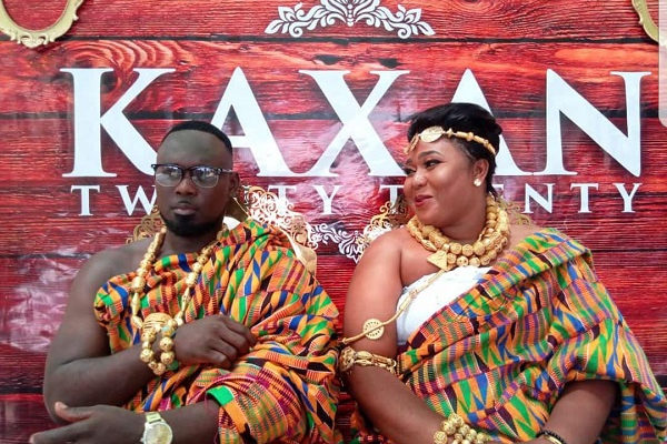 PHOTOS:  Angel TV's Kaninja marries actress Xandy Kamel