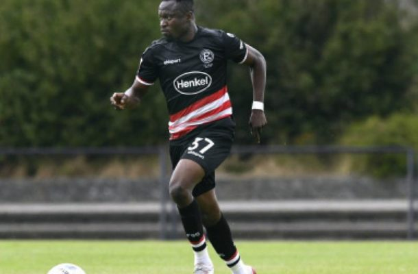 Fit again Bernard Tekpetey still out of Fortuna Dusseldorf's match day squad