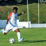 Francis Narh, Dennis Tetteh score for his Belarusian side Slavia Mozyr in defeat
