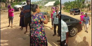 Divorce: Alleged video of Joyce Blessing fighting for custody of her kids drops