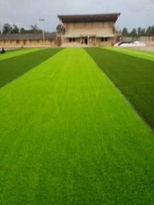 PHOTOS: Astro turf construction at Karela's homegrounds set to be completed by the end of the month