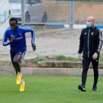 Black Stars coach C.K Akonnor delighted with the return of Raphael Dwamena
