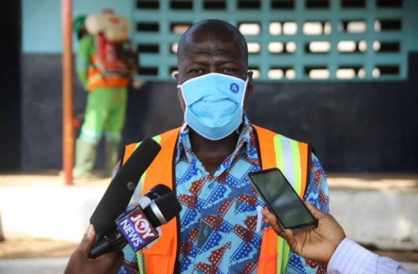 Tema Zoomlion manager urges parents to support Govt in Covid-19 fight