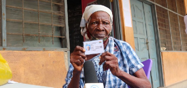 84 year-old gets her Voters ID card in record time