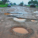 Potholes on Eastern Corridor Road now 'dams' – Residents lament