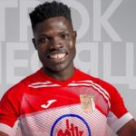Ghanaian attacker Francis Narh named Player of the Month for May for Slavia Mozyr