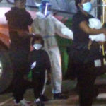 Sarkodie, wife arrive in Ghana with new baby