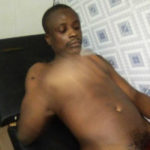 V/R: Suspect caught cutting off his manhood in police cell