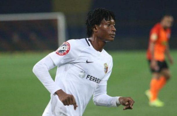 Video: Ghana's Najeeb Yakubu on target for Vorslka in Ukrainian league draw