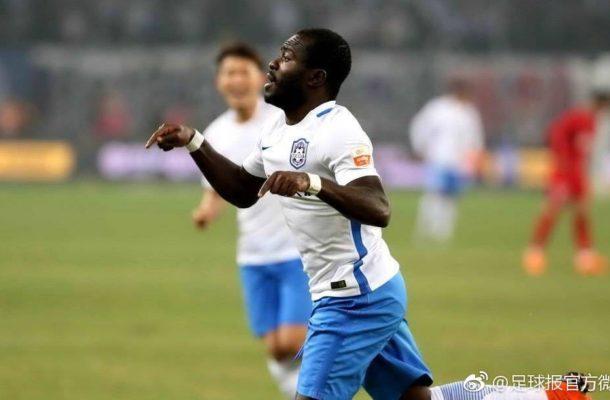 Ghana's Frank Acheampong scores hat-trick in Tianjin Teda friendly win
