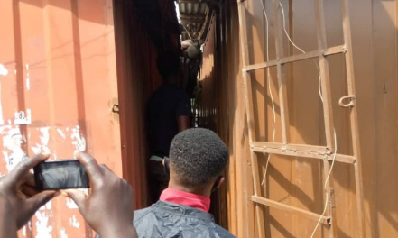 PHOTOS: Thief electrocuted to death at Lapaz