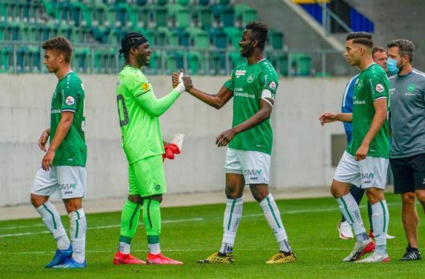 Defender Musah Nuhu marks injury return in St. Gallen's big win