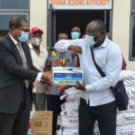 GBA present food items to boxing gyms nation-wide