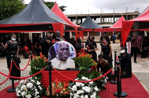 PHOTOS: One-week observation of Peace FM's Nana Agyei Sikapa underway