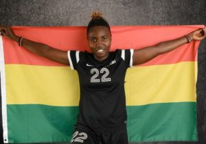 22-yr-old Black Princesses' defender Kate Adu Aggyeman making Ghana proud in USA