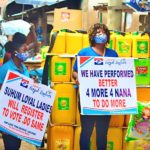 COVID-19: NPP Loyal Ladies donate nose masks to drivers, market women in Suhum