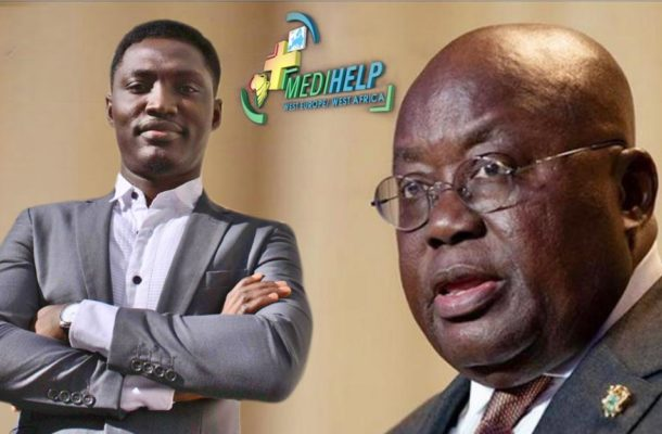 Medihelp WeWa writes to acknowledge Akufo-Addo on stepstaken to ease COVID-19 restrictions