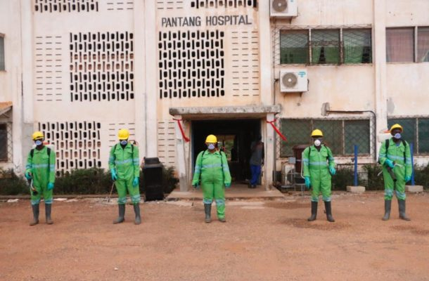 COVID-19 Fight: Zoomlion takes disinfection exercise to GRIDCo, Pantang hospital