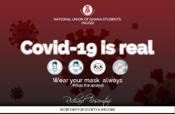 Rich Bosomtwi writes: COVID-19 is real; students beware!