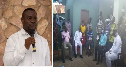 VIDEO: Don't be like 'that foolish Owusu Aduomi' – Ejisu Chief warns John Kumah
