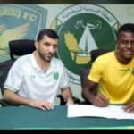 Ghanaian duo extend contact with Saudi side