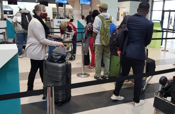 Covid-19: Stranded Ghanaians with European resident's permit evacuated